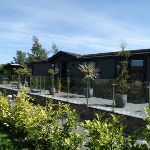 Holiday home lodge at Moss bank