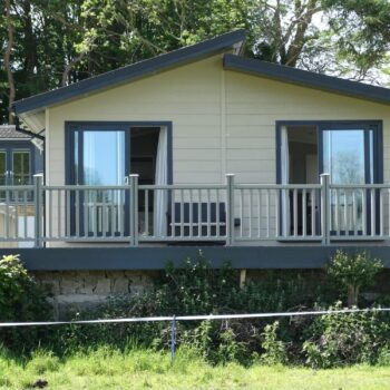 New executive holiday home with decking